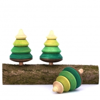 Mader 3 Tree Spinning Tops On Branch
