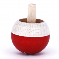 Mader Fly Agaric Spinning Turn-Over Top