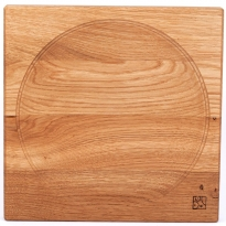 Mader Large Oak Spinning Plate