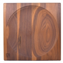 Mader Large Walnut Spinning Plate