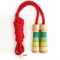 Mader Skipping Rope Green Handles