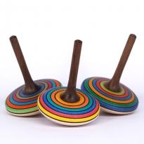 Mader Stripe Spinning Top