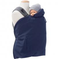 Mamalila Softshell Babywearing Cover - Vario Navy / Ice