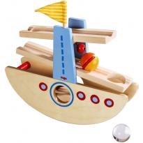 Haba Marble Slide Seesawing Boat