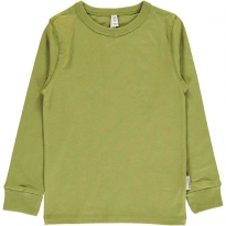 Maxomorra Apple Green LS Top