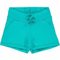 Maxomorra Turquoise Sweat Shorts