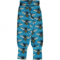 Maxomorra Bee Rib Pants