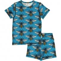 Maxomorra Bee SS Pyjamas
