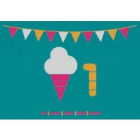 Maxomorra Birthday Card - Ice Cream (1)
