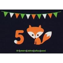 Maxomorra Birthday Card - Fox (5)