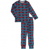 Maxomorra Long Sleeve Cabriolet Pyjama Set