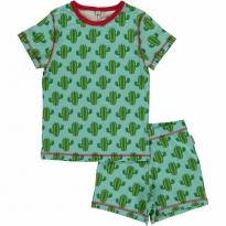 Maxomorra Cactus Shortie Pyjamas