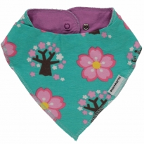 Maxomorra Cherry Blossom Dribble Bib