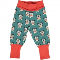 Maxomorra Dalmatian Buddy Rib Pants