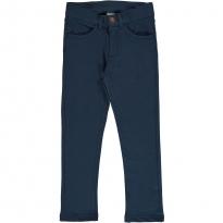 Maxomorra Dark Blue Washed Denim Rib Pants