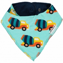Maxomorra Cement Truck Dribble Bib