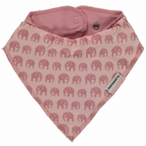 Maxomorra Elephants Dribble Bib
