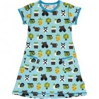 Maxomorra Garden SS Dress