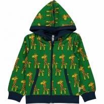 Maxomorra Giraffe Zip Hoody