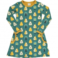 Maxomorra Golden Pear LS Dress