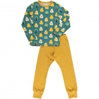 Maxomorra Golden Pear LS Pyjamas