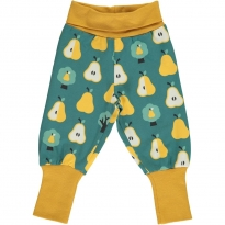 Maxomorra Golden Pear Rib Pants