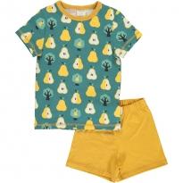 Maxomorra Golden Pear SS Pyjamas