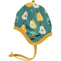 Maxomorra Golden Pear Velour Helmet Hat