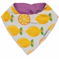 Maxomorra Lemon Dribble Bib