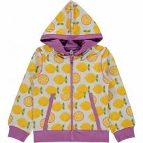 Maxomorra Lemon Zip Hoody