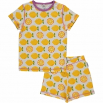 Maxomorra Lemon Shortie Pyjamas