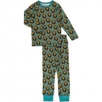 Maxomorra Lion Jungle LS Pyjamas