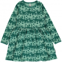 Maxomorra City Landscape LS Spin Dress