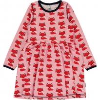 Maxomorra Fox LS Spin Dress