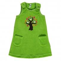 Maxomorra Oak Tree Embroidered Dress