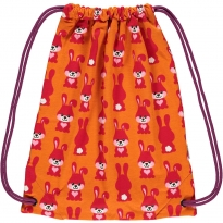 Maxomorra Orange Rabbit Gym Bag