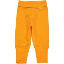 Maxomorra Orange Rib Pants