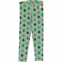 Maxomorra Busy Squirrel Leggings