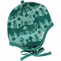Maxomorra City Landscape Helmet Hat