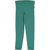 Maxomorra Green Petrol Leggings