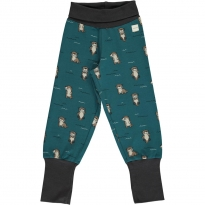Maxomorra Curious Otter Rib Pants