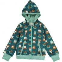 Maxomorra Lake Life Hooded Cardigan