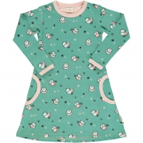 Maxomorra Little Sparrow LS Dress