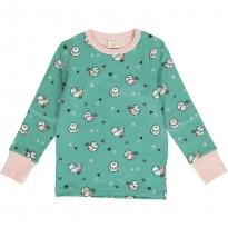 Maxomorra Little Sparrow LS Top