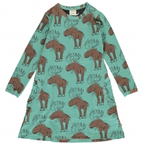 Maxomorra Mighty Moose LS Dress