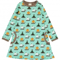 Maxomorra Raft Race LS Dress