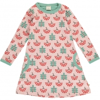 Maxomorra Ruby Rowanberry LS Dress