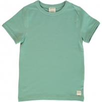 Maxomorra Soft Teal SS Top