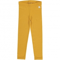 Maxomorra Solid Ochre Leggings