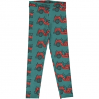 Maxomorra Vintage Fire Truck Sweat Pants